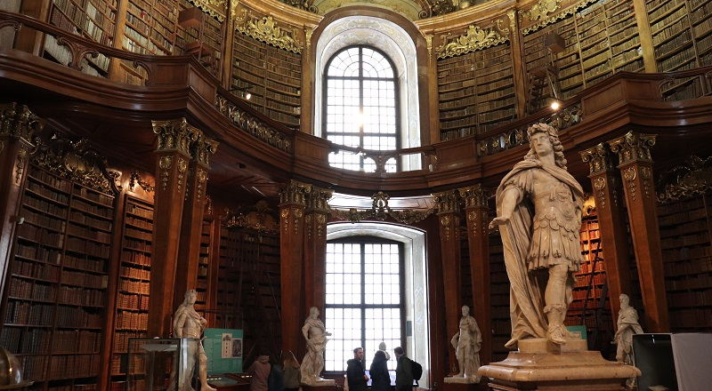 Visitar la Biblioteca Nacional de Austria