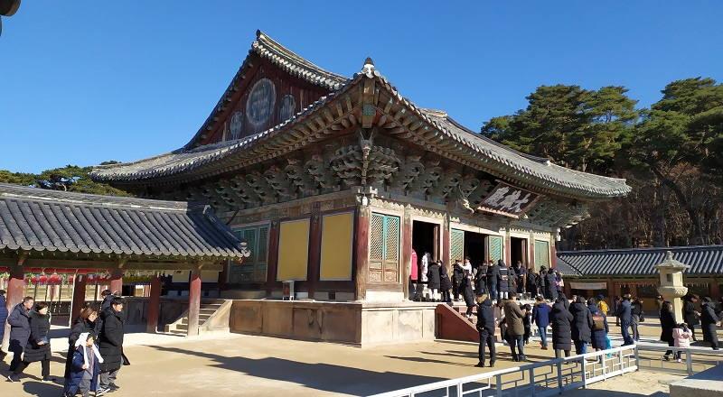Templo Bulguksa Corea del Sur