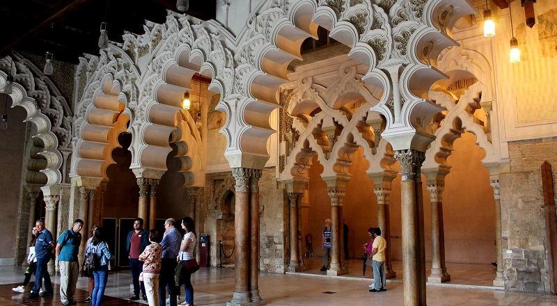 Visitar el Palacio de la Aljafería